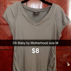 Oh baby by motherhood maternity top